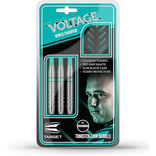 Voltage Rob Cross Steeldart Silver Voltage 24g von Target