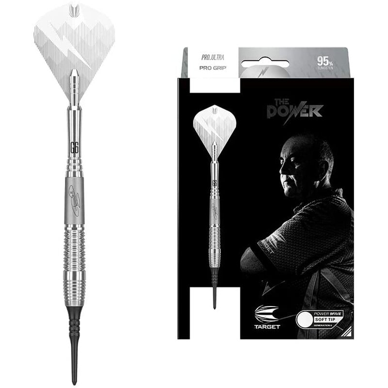 Softdart Phil Taylor Power 9-Five Gen 6 Softtip 18g