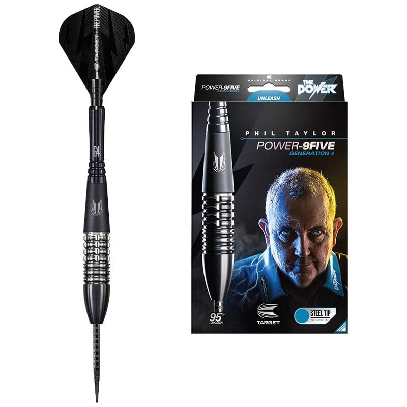 Steeldart Phil Taylor Power 9Five Gen4 Steeltip 22g